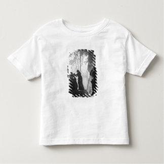 Apollo a tendu par des nymphes dans le bosquet des t-shirt pour les tous petits