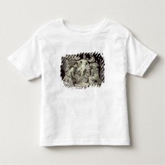Apollo a tendu par les nymphes, destinées à la t-shirt pour les tous petits