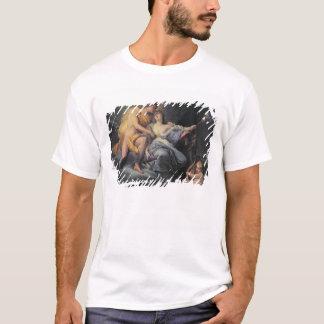 Apollo caressant la nymphe Leucothea (huile sur le T-shirt