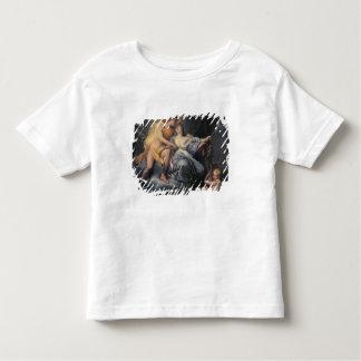 Apollo caressant la nymphe Leucothea (huile sur le T-shirt Pour Les Tous Petits