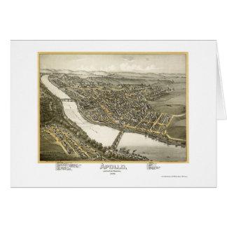 Apollo, carte panoramique de PA - 1896