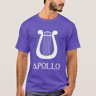 Apollo de la lyre t-shirt