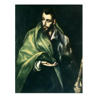 Apôtre St James d'EL Greco- le plus grand Carte Postale