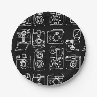 Appareil-photo - appareils-photo vintages - B&With Assiettes En Papier
