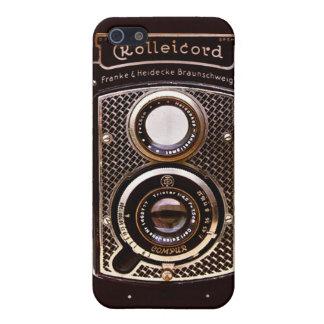 Appareil-photo d'art déco de Rolleicord iPhone 5 Case