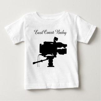 Appareil-photo de film de cinéma de film de bébé t-shirt pour bébé
