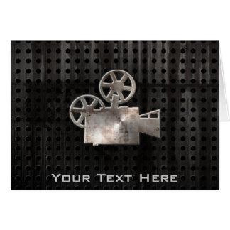 Appareil-photo de film rocailleux carte de vœux