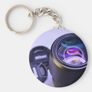 Appareil-photo de photographie de Nikon Porte-clé Rond