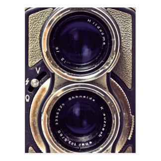 appareil-photo démodé carte postale