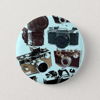 Appareil-photo grunge de cru de photographie de badges