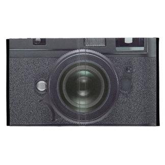 Appareil-photo noir moderne coques iPad