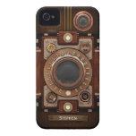 Appareil-photo vintage #1C de Steampunk Étui iPhone 4