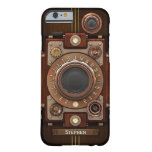 Appareil-photo vintage #1C de Steampunk Coque iPhone 6 Barely There