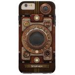 Appareil-photo vintage #1C de Steampunk Coque iPhone 6 Plus Tough