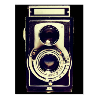 Appareil-photo vintage cartes postales