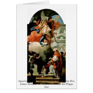 Apparition de la Vierge Cartes