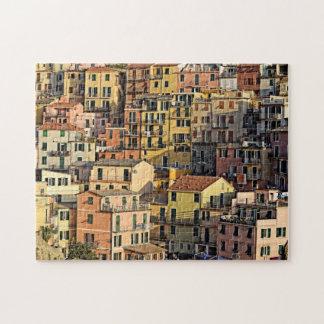 Appartement italien vivant dans le puzzle de