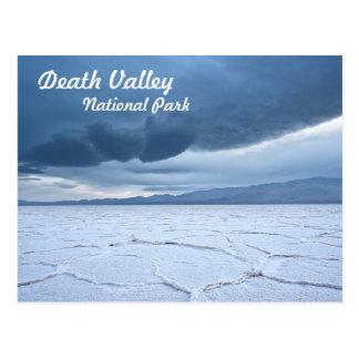 Appartements de sel dans Death Valley Carte Postale