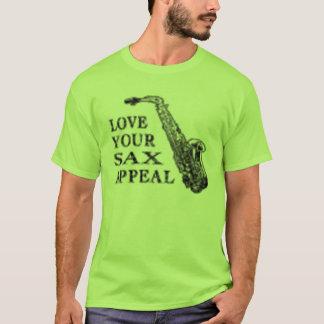 appel de saxo t-shirt
