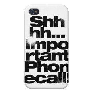 appel téléphonique iPhone4 important Coque iPhone 4 Et 4S