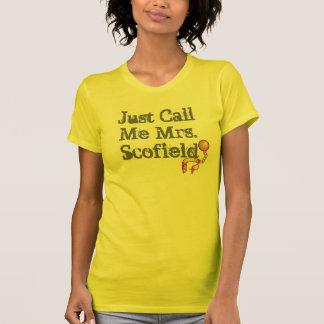Appelez-juste moi boule d'évasion de Mme T-shirt