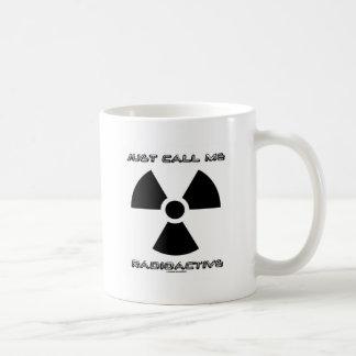 Appelez-juste moi radioactif (le signe radioactif) mug