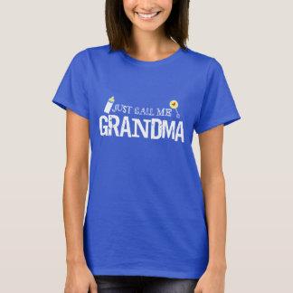 Appelez-juste moi T-shirt de grand-maman