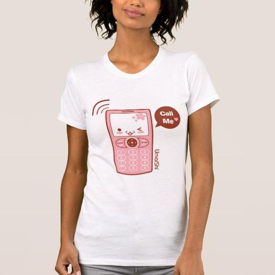 Appelez-moi T-shirt (plus de styles)