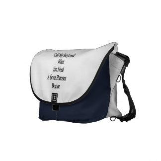 Appelez mon ami quand vous avez besoin d un grand sacoches