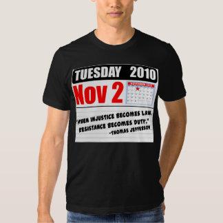 Appels de devoir de mardi le 2 novembre 2010 - ! t-shirt