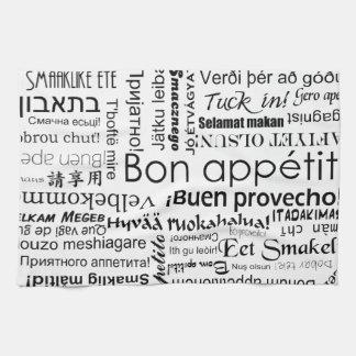 Appetit de fève dans d'autres langues serviette éponge