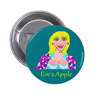 Apple Blondie d'Ève de femme de transsexuel Badge