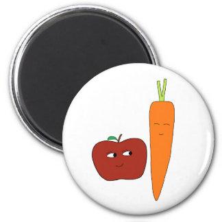 Apple-Carotte Aimant