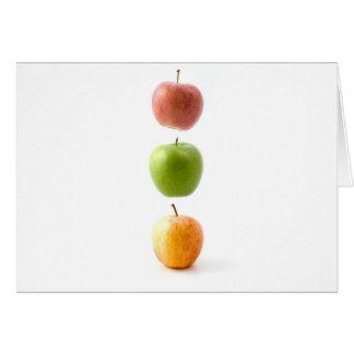 Apple chronomètrent cartes de vœux