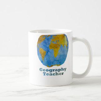 Apple du professeur de géographie mug
