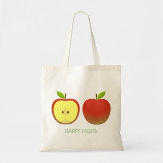 Apple et demi de motif sac
