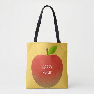 Apple et un demi (2 côtés) tote bag
