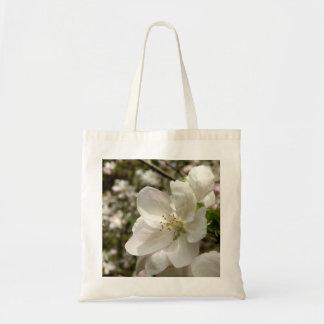 Apple fleurissent sac fourre-tout