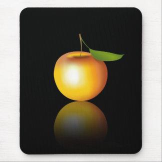 Apple juteux tapis de souris