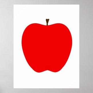 Apple moderne impriment affiches