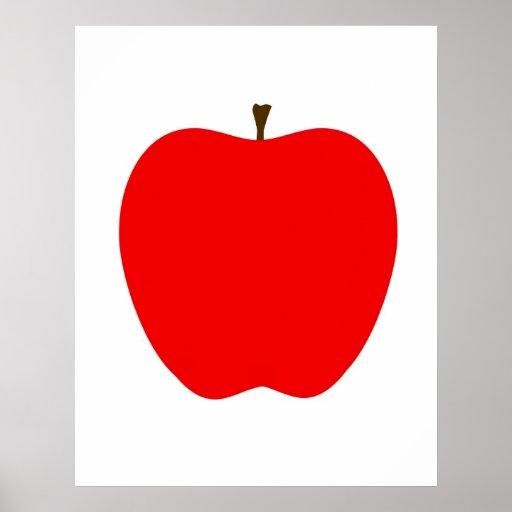 Apple moderne impriment posters