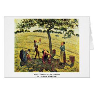 Apple moissonnent chez Eragny, par Camille Carte De Vœux