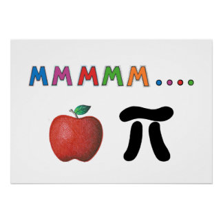 Apple pi posters