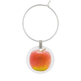 Apple rouge marque-verres