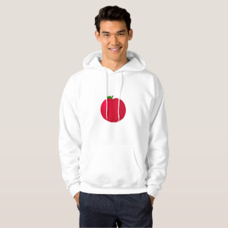 Apple rouge veste à capuche