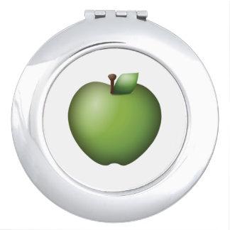 Apple vert - Emoji Miroir Compact