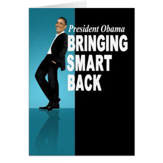 Apportant à Smart la carte arrière