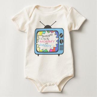 Apporté à vous par la maman et le papa - poste TV Body