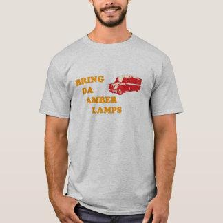 APPORTEZ au DA le T-shirt (gris) AMBRE de LAMPES