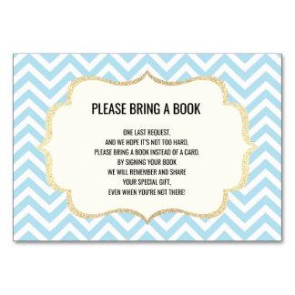 Apportez un livre - Chevron des cartes de baby